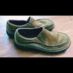 "Merrell ""Guru"" leather slip on size 8.5"